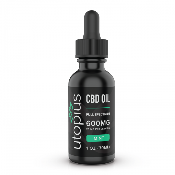Utopius CBD Hemp Extract Mint